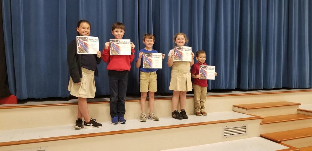 3rd Term Awards - Principal's Award
