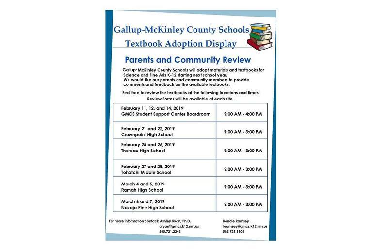 revised schedule