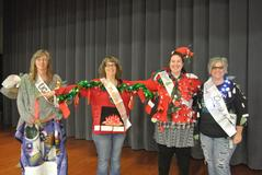 BUHS Faculty Ugly Christmas Sweater Contest Winners
