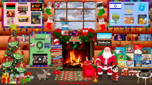 Holidays Around the World Virtual Room