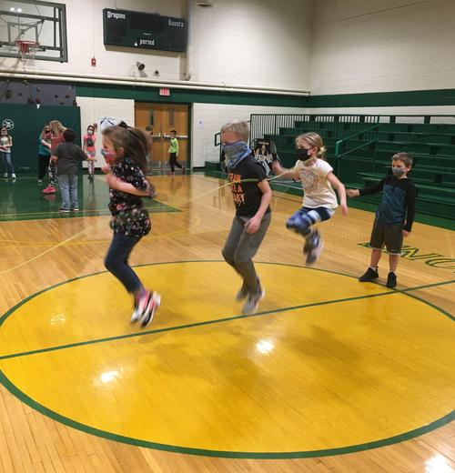Jump rope for heart fun!