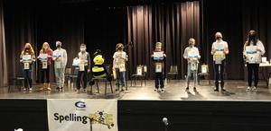 Congratulations to all of our 2021 Gananda Spelling Bee Competitors