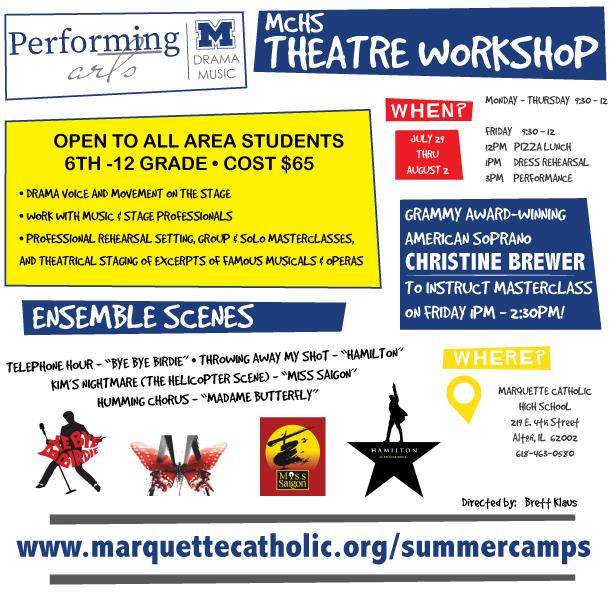 performing arts flyer