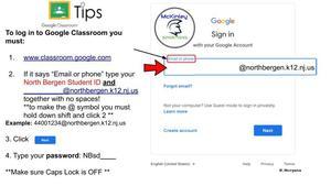google classroom log in tips