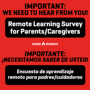 Remote Learning Survey Available