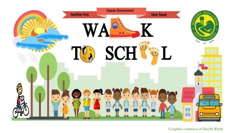 Weekly walk to school Wednesdays Featured Photo