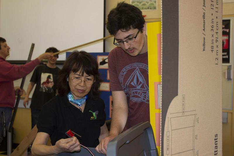 leigh high school flex factor student and teacher