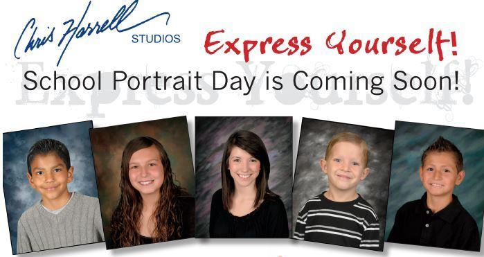 School Picture Day is Thursday, Oct. 29! Featured Photo
