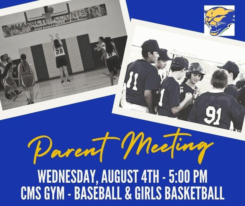 parent meeting for sports