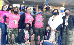 Robert Lewis Magnet Staff in Pink and Camo