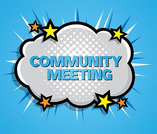 Community Meeting Clipart