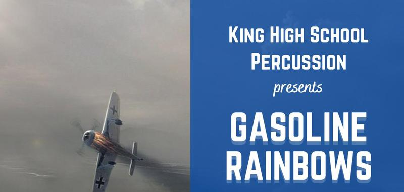 KHS Percussion Presents Gasoline Rainbows Featured Photo