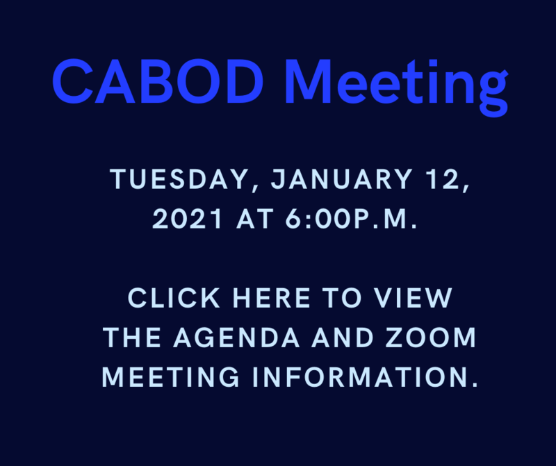 CABOD MEETING INFORMATION