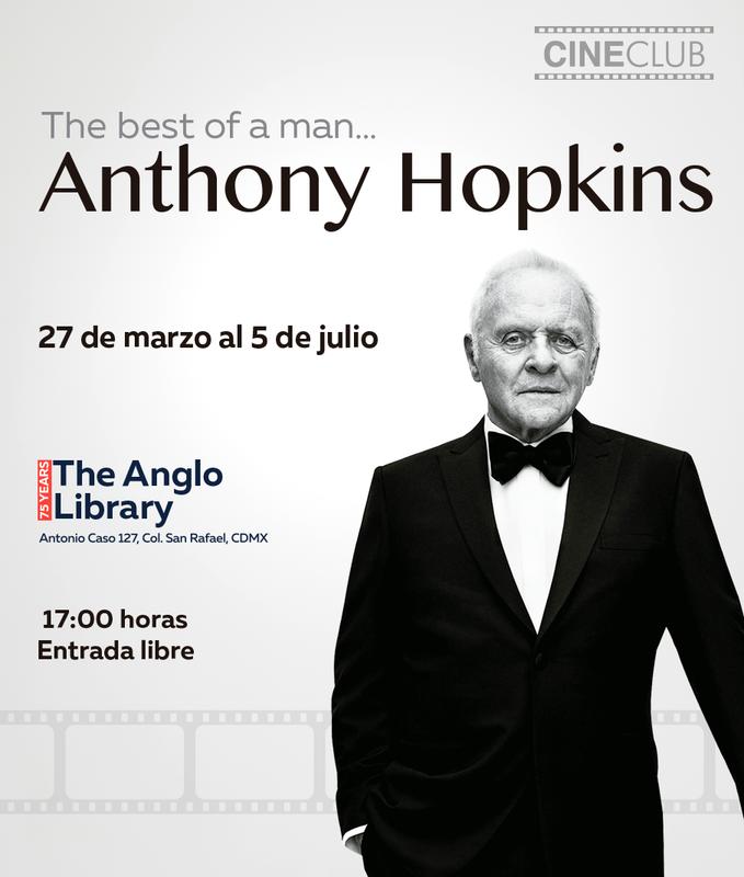 Empezamos un Cine Club dedicado al gran actor británico Anthony Hopkins Featured Photo