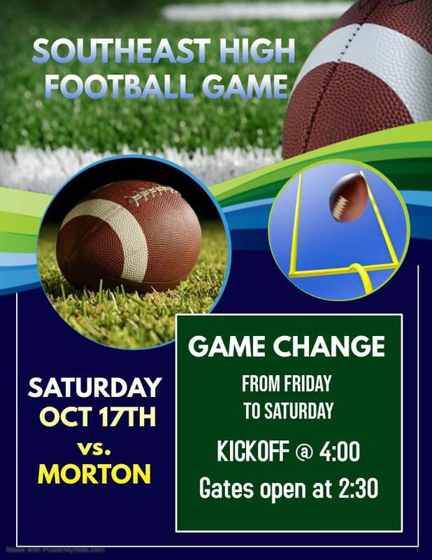 SEHS Game Change Flyer