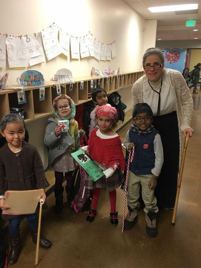 100 days of school and 100 years old