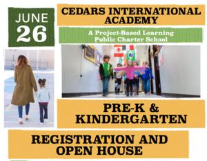 PreK/Kinder Open House