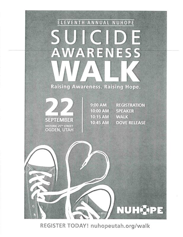 Raising Awareness. Raising Hope: NUHOPE's Suicide Awareness Walk Featured Photo