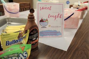 Teachers at B-L High School enjoyed an ice cream social on Tuesday, May 7th as part of Teacher Appreciation Week festivities.