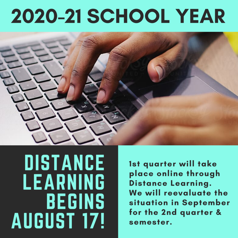 DISTANCE LEARNING BEGINS AUGUST 17 Featured Photo