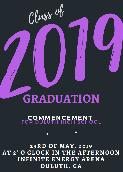 Graduation date and time has been set!! Thumbnail Image