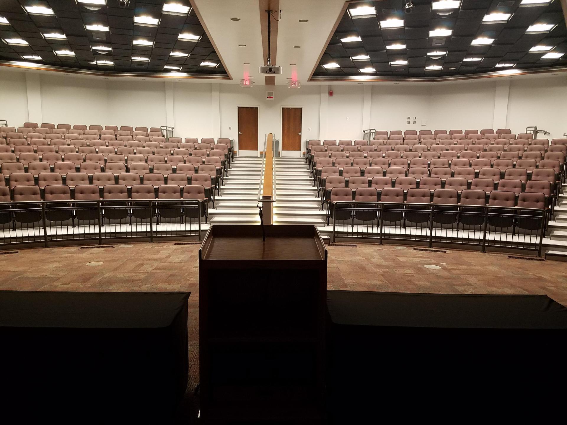 Seminar Center Theater Seats