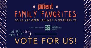 Colorado Parent Magazine family favorite