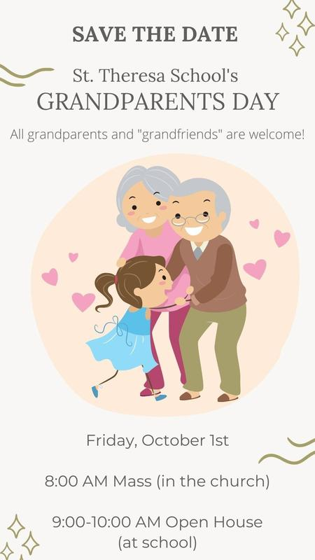 Save the date! Grandparents Day is back at STS - October 1! Featured Photo