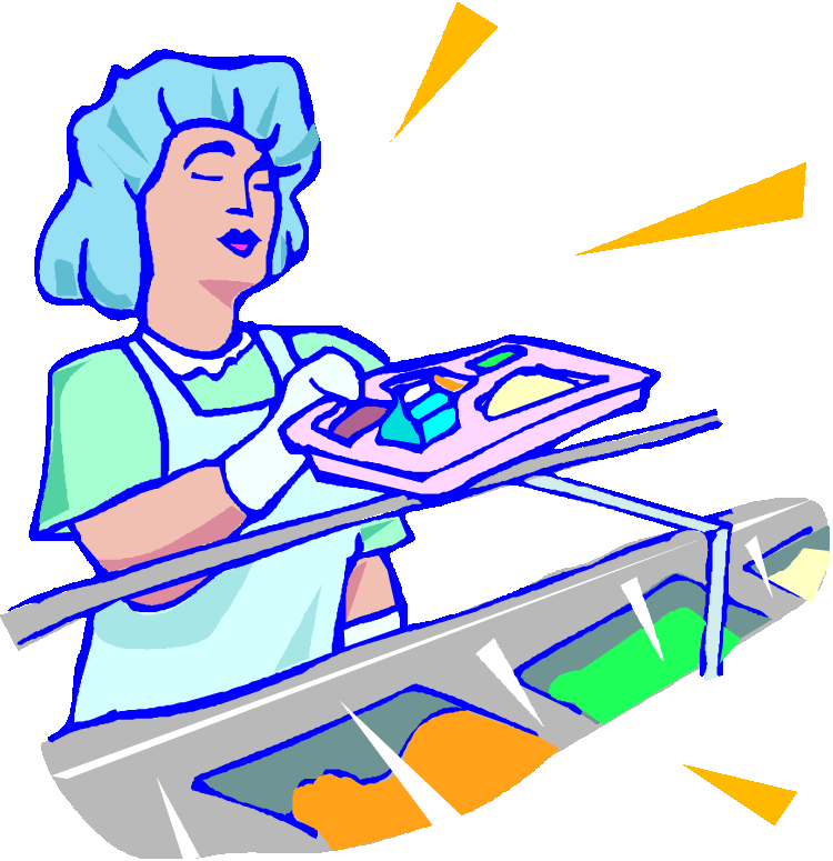 lunch lady clipart