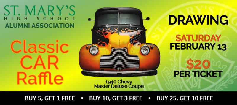 SMHSAA Classic Car Raffle Banner Ad