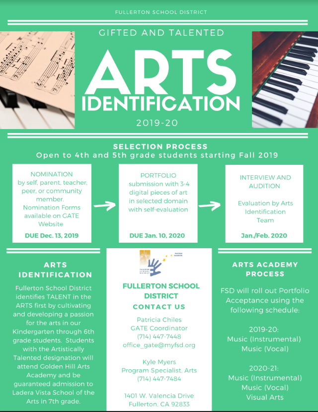 Arts ID Flyer