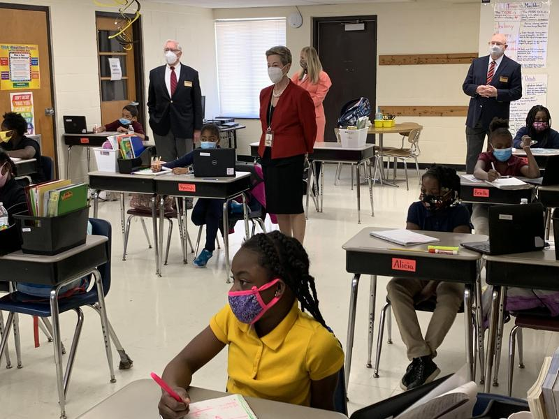 Maryland State Superintendent Visits Somerset Schools Featured Photo