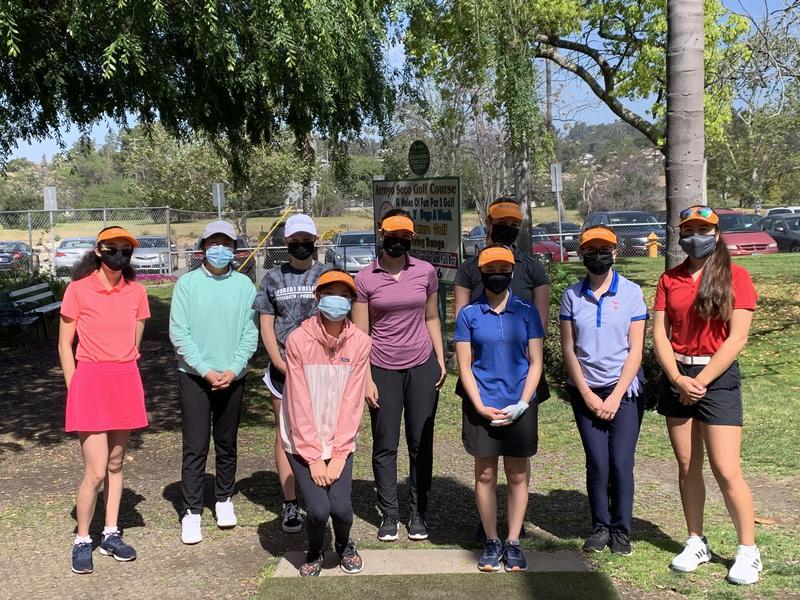 SPHS Girls Golf Team