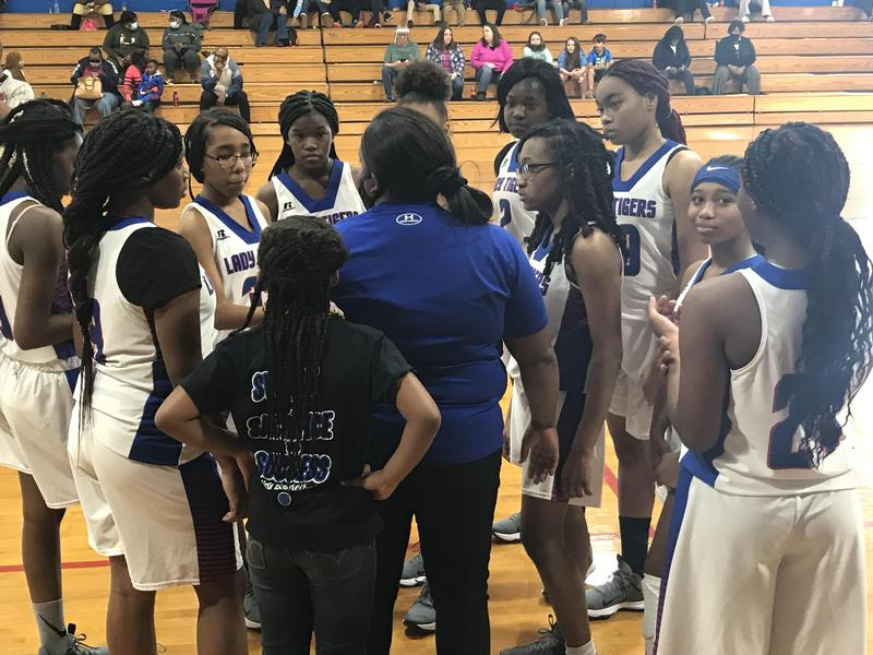 SEMS 8th Grade Girls Basketball Team