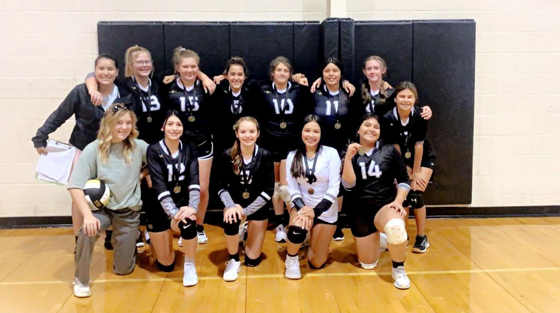 SJHS Volleyball Champs