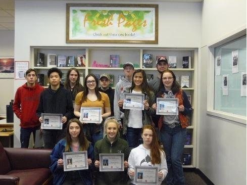 FEBRUARY STUDENTS OF THE MONTH Thumbnail Image