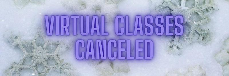 virtual classes canceled
