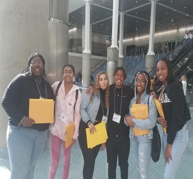 BSU STUDENTS AT BLACK COLLEGE EXPO 2020