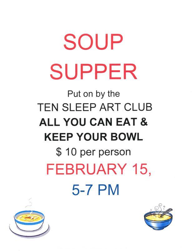 ART CLUB Soup Supper Thumbnail Image