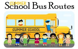 EUSD Summer School Bus Routes 2019