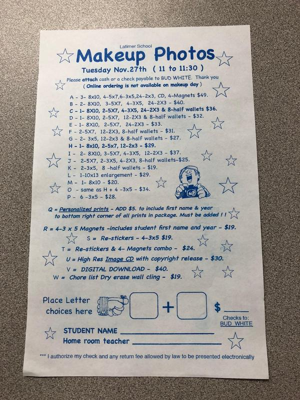 Make Up Picture Day Thumbnail Image