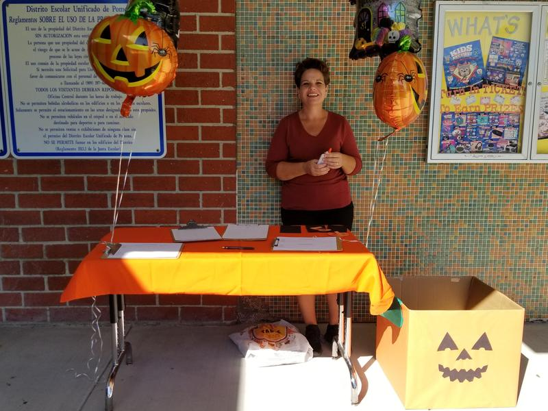 PTO President, Ms. Mary Hammons, is recruiting parents to join PTO and help support our first ever Trunk-or-Treat event! #proud2bepusd