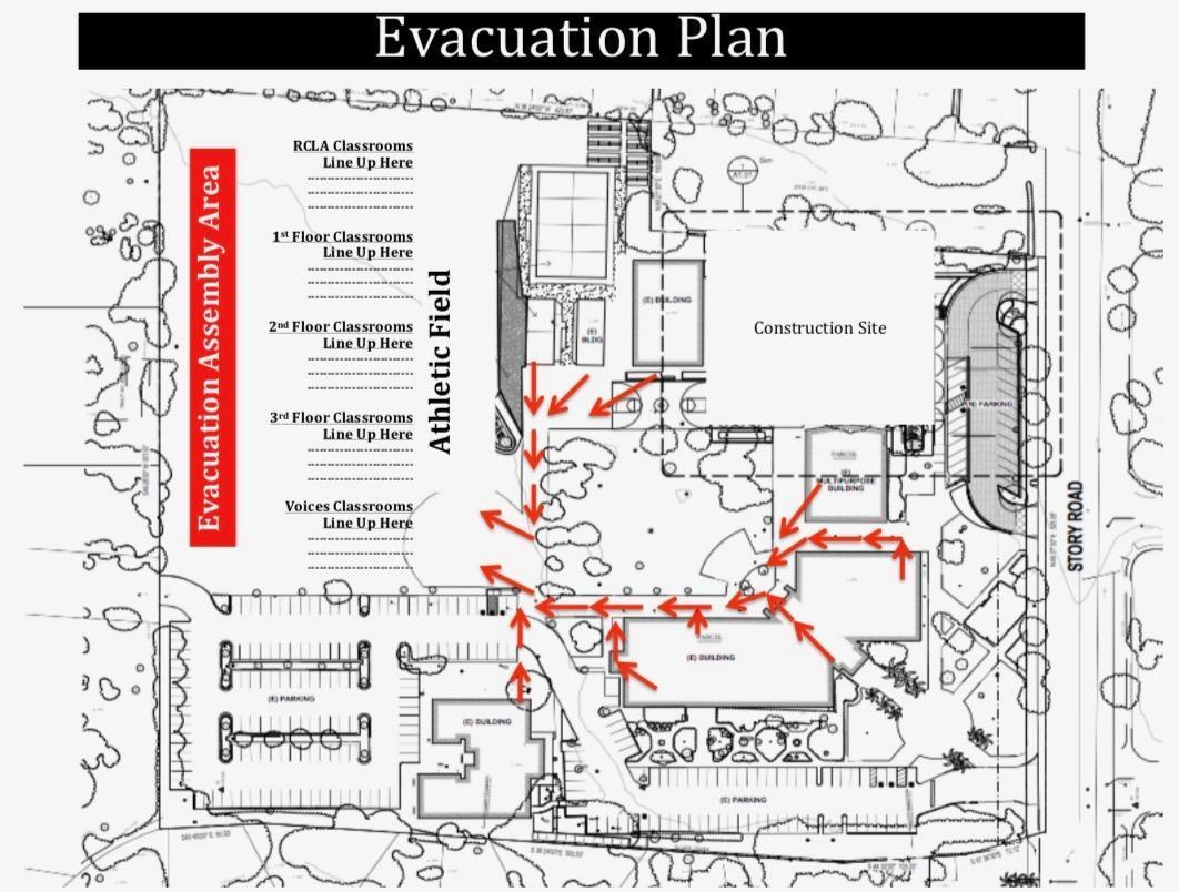 All Schools Evacuation Plan