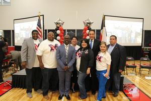 MISD leaders with Henry Cisneros