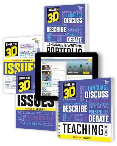 English 3D materials
