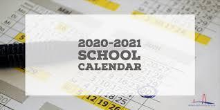 SGA 2020-2021 School Calendar Featured Photo