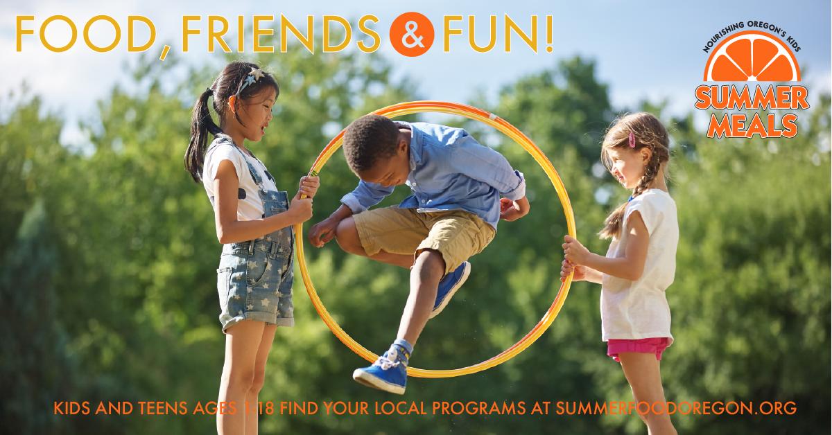 Summer Food Program header
