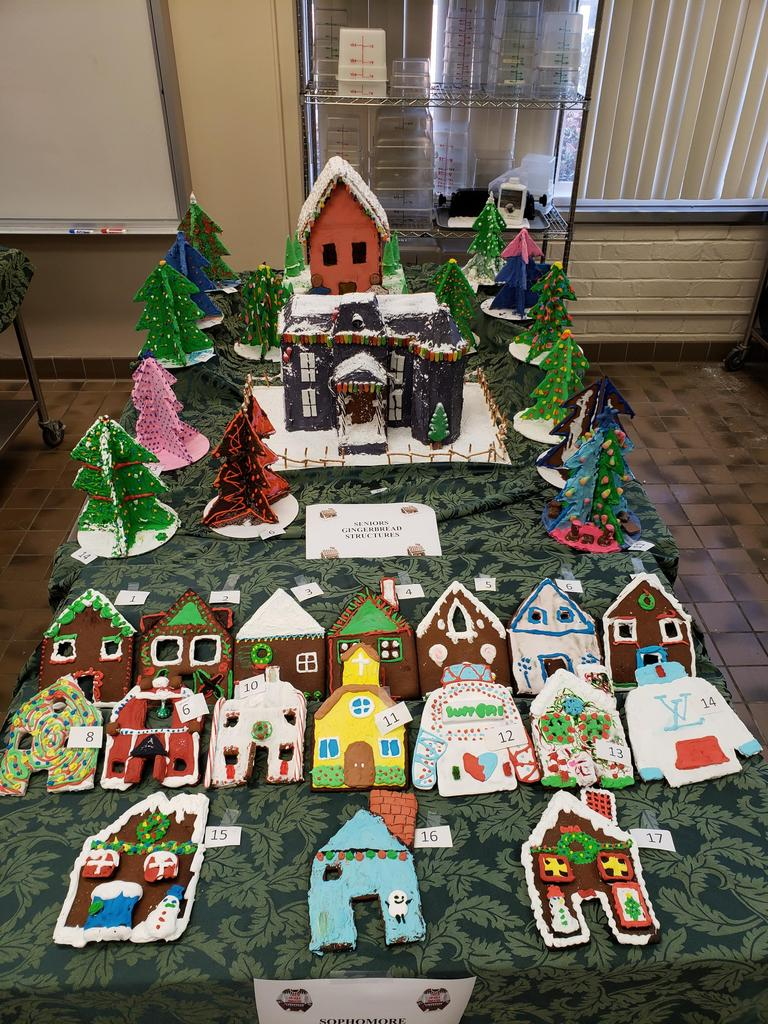 Gingerbread Projects 2019-2020