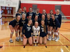 Knoch Volleyball players