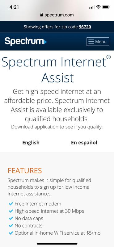 Discounted Internet from Spectrum Featured Photo